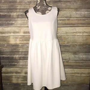FOREVER 21 Off white stretch plus size dress 2X